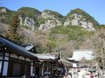 八栗寺と五剣山