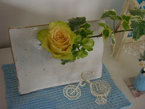 グリーンの薔薇