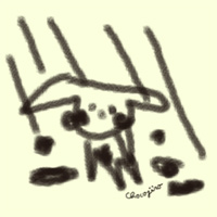 自分に悲しく(c)chocojiro