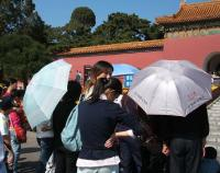 日傘は雨傘