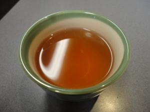 食後の番茶♪@焼きそばランランさん