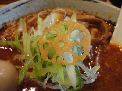 鮪豚骨麺 辛味噌 蓮のトレードマーク@蓮海さん