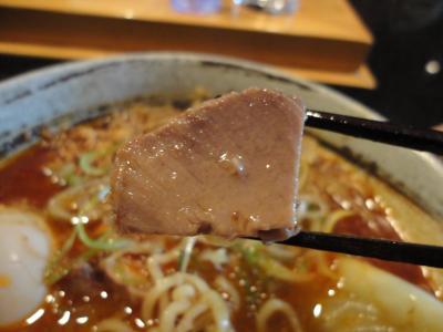 鮪豚骨麺 辛味噌 ブロック叉焼@蓮海さん