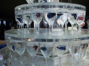 おさかなグラスタワー