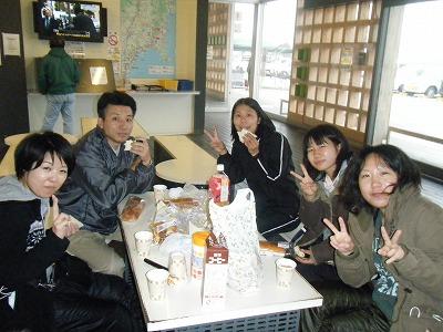 石巻道の駅朝食