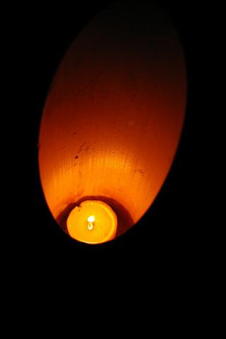 竹灯りの径