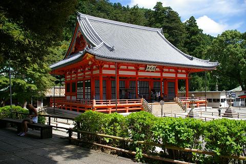 勝尾寺・本堂