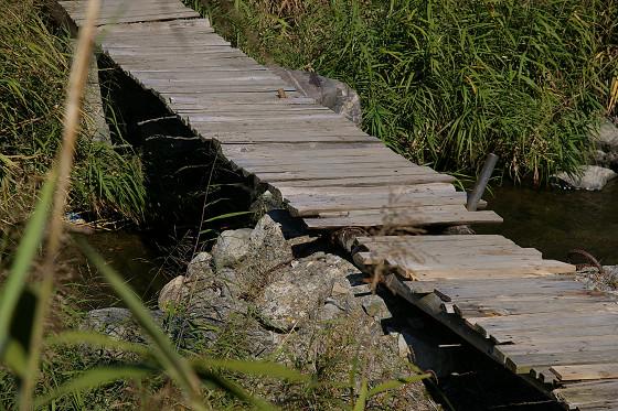 手作り流れ橋