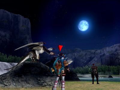 きれいな月だね