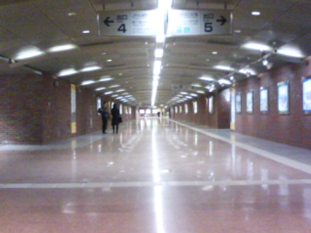 JR札幌駅北口地下歩道13