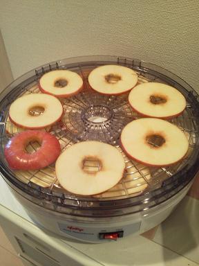 果物・野菜乾燥器(リンゴ)