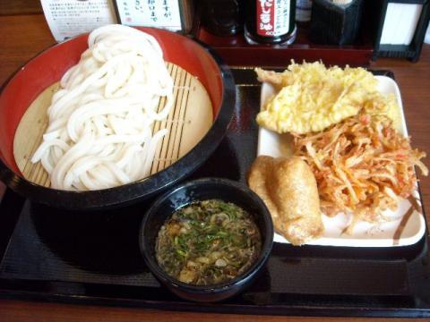 丸亀製麺・ざるうどん