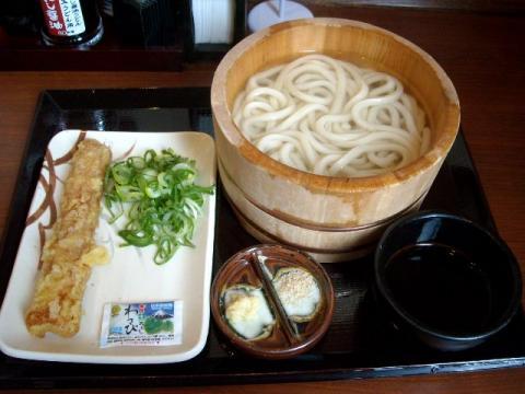丸亀製麺・釜揚げうどん