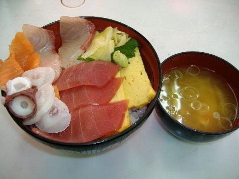 築地めし丸本店・魚河岸丼1