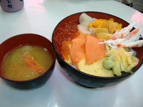 築地めし丸本店・北海丼