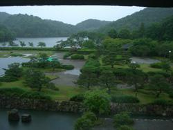 京都国際会館からの眺め