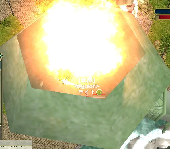 火、火、ヒィィィィ。゜(゜´Д`゜)゜。