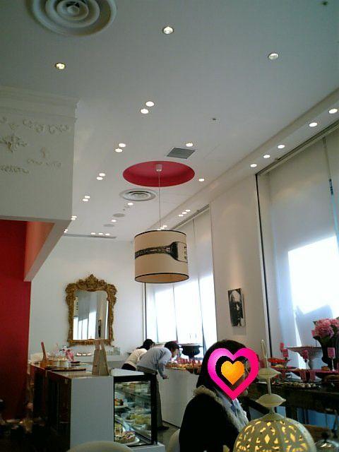 可愛いカフェ 店内