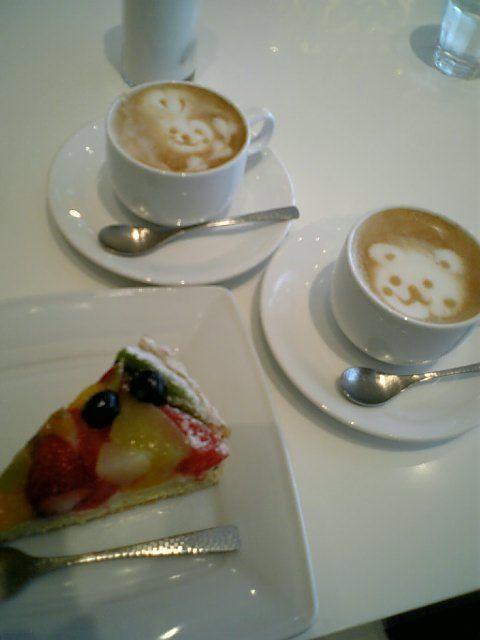 可愛いカフェ カプチーノ2
