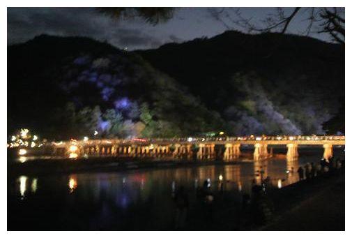 嵐山の夜景♪