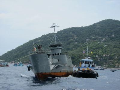 タオ島、沈船