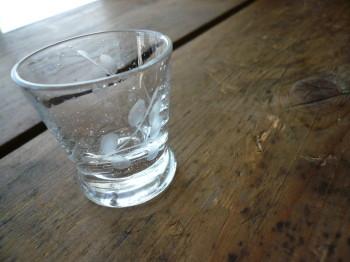 レトロなグラス