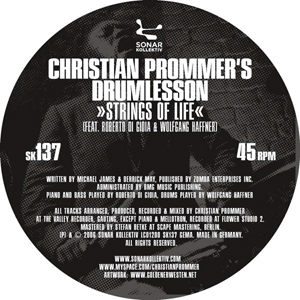 Christian Prommer's Drumlesson / Strings Of Life / Space Jam
