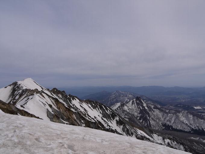 頂上から南東方向