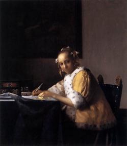 フェルメール「手紙を読む女」