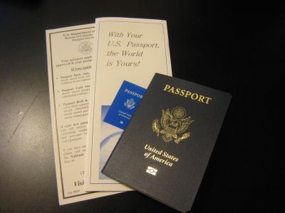 アメリカパスポート②