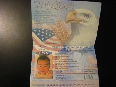 アメリカパスポート④