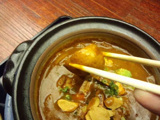 海老勢えびカレーつけラー麺110412c