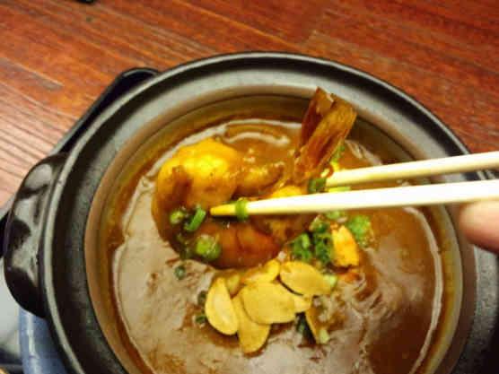 海老勢えびカレーつけラー麺110412e