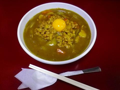 納豆カレー1