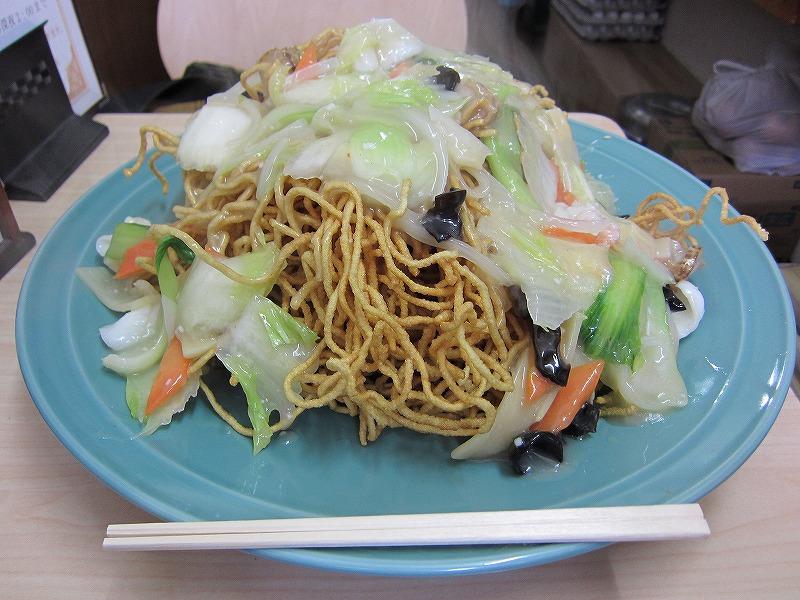 海鮮あんかけカタ焼きそば 大盛り  ¥1029 + ¥210