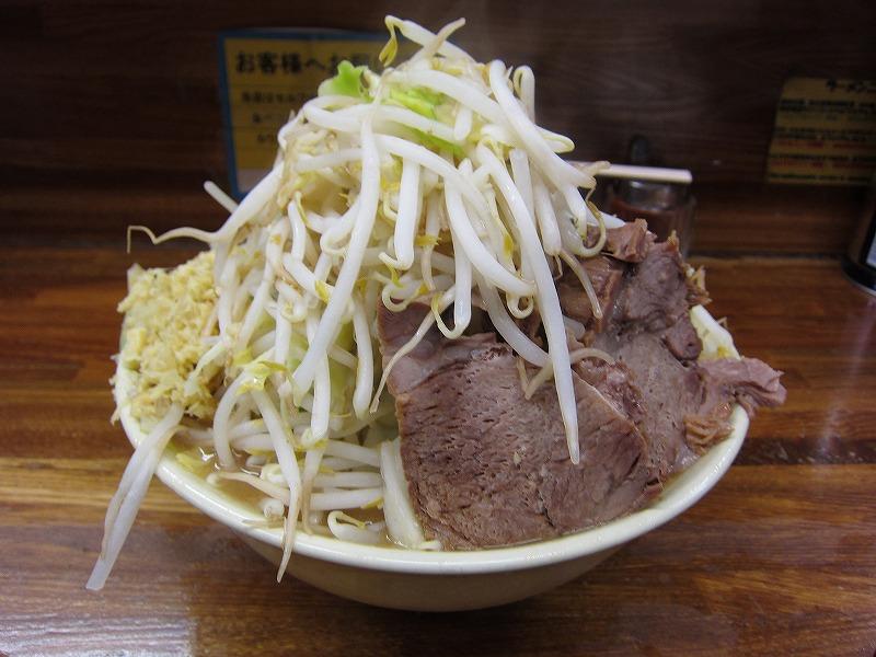大 麺カタメ しょうが  ¥800 + ¥50