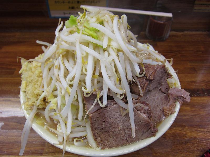 大 麺カタメ しょうが  ヤサイマシ カラメ
