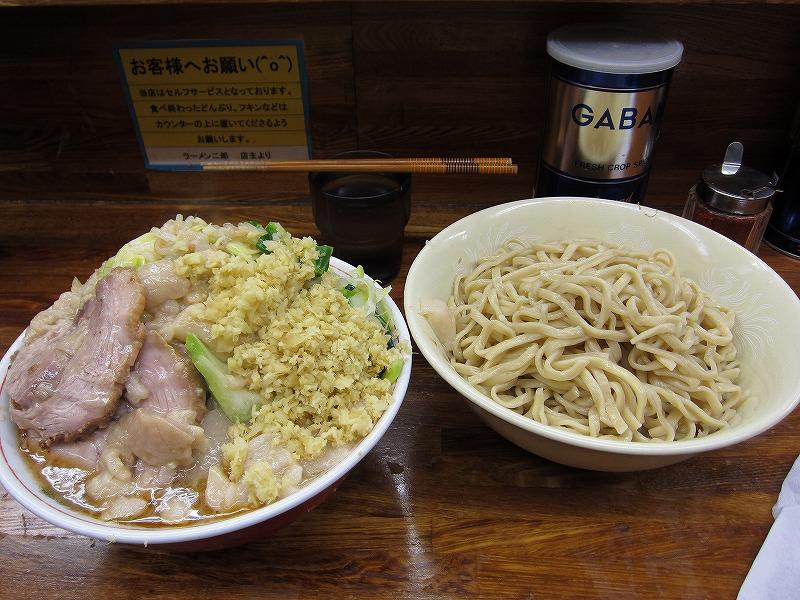 大つけ麺 しょうが   ¥950  +  ¥50