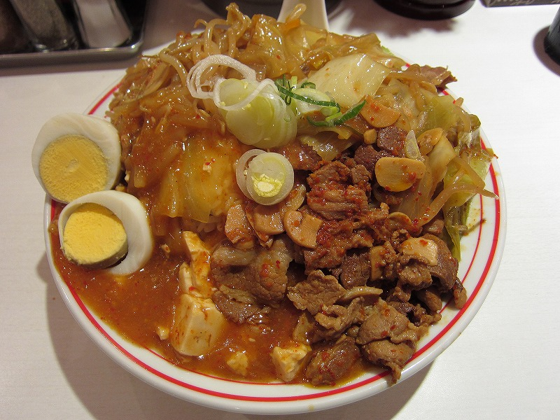 蒙古丼 大盛りw