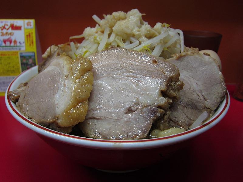 大 麺増し600g 麺カタメ   ¥800