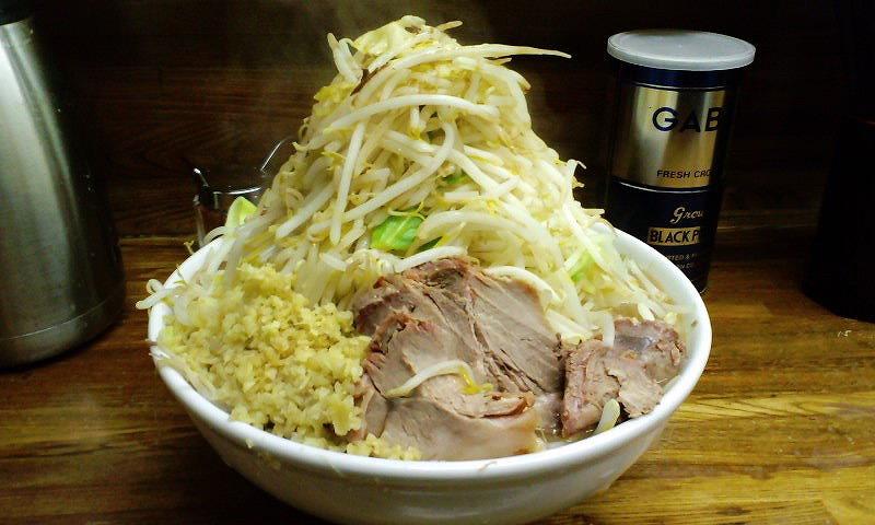 大 ちょい増し 麺カタカタ しょうが  ¥800+¥50+ユニセフ募金