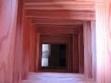 吉野杉の樽丸材(色と香りが素晴らしい)