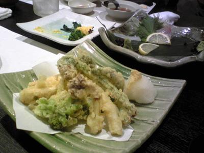 春の野菜天ぷら