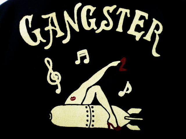 GANGSTERVILLE G.V.ZIP PEA COAT Sack Time