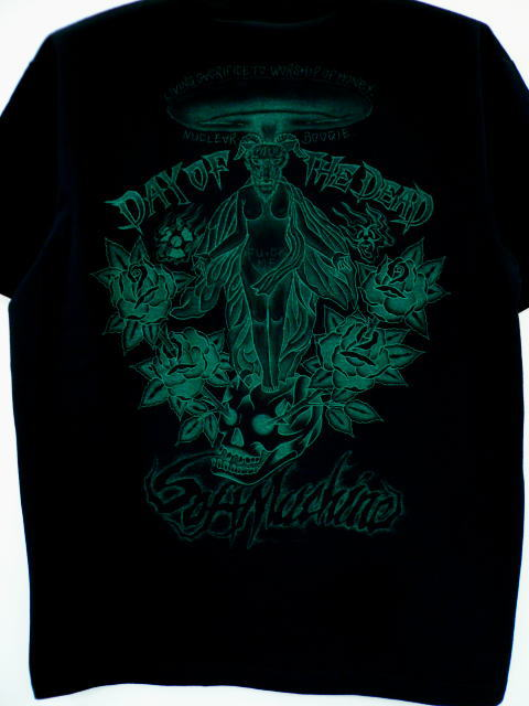 SOFTMACHINE×DAY OF THE DEAD BAPHOMET-T