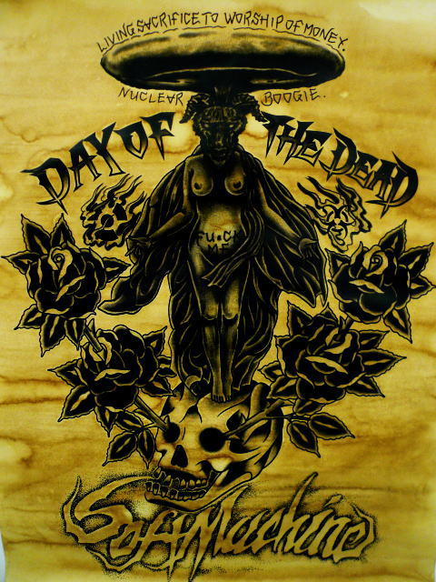 SOFTMACHINE×DAY OF THE DEAD BAPHOMET POSTER