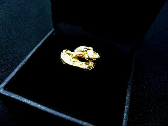 SOFTMACHINE SNAKE K18+DIAMOND