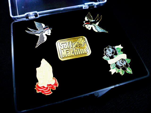 SOFTMACHINE SM PINS