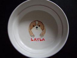 絵皿レイラ