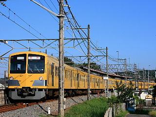 増発列車の高麗ゆきですが、字幕は臨時表示